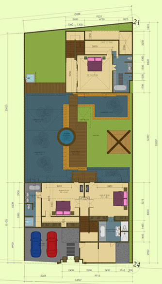 Villa Annecy Upper Floor Plan